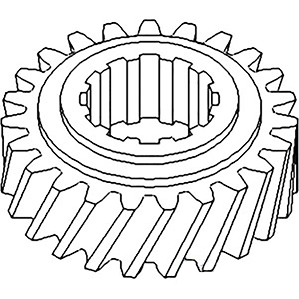 70246543 New Transmission Countershaft 3rd Gear For Allis