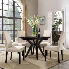 Beige Dining Chairs Round Card Table And Modway Parcel Upholstered Side Chair Multiple Colors Walmart Com