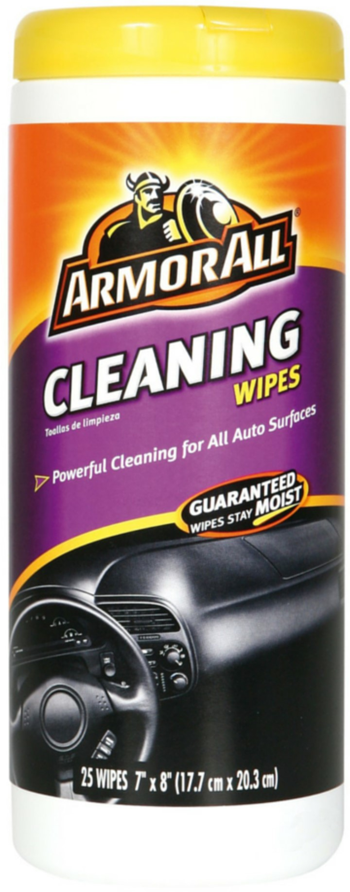 Armor All Cleaning Wipes Canister 25 Count Walmartcom