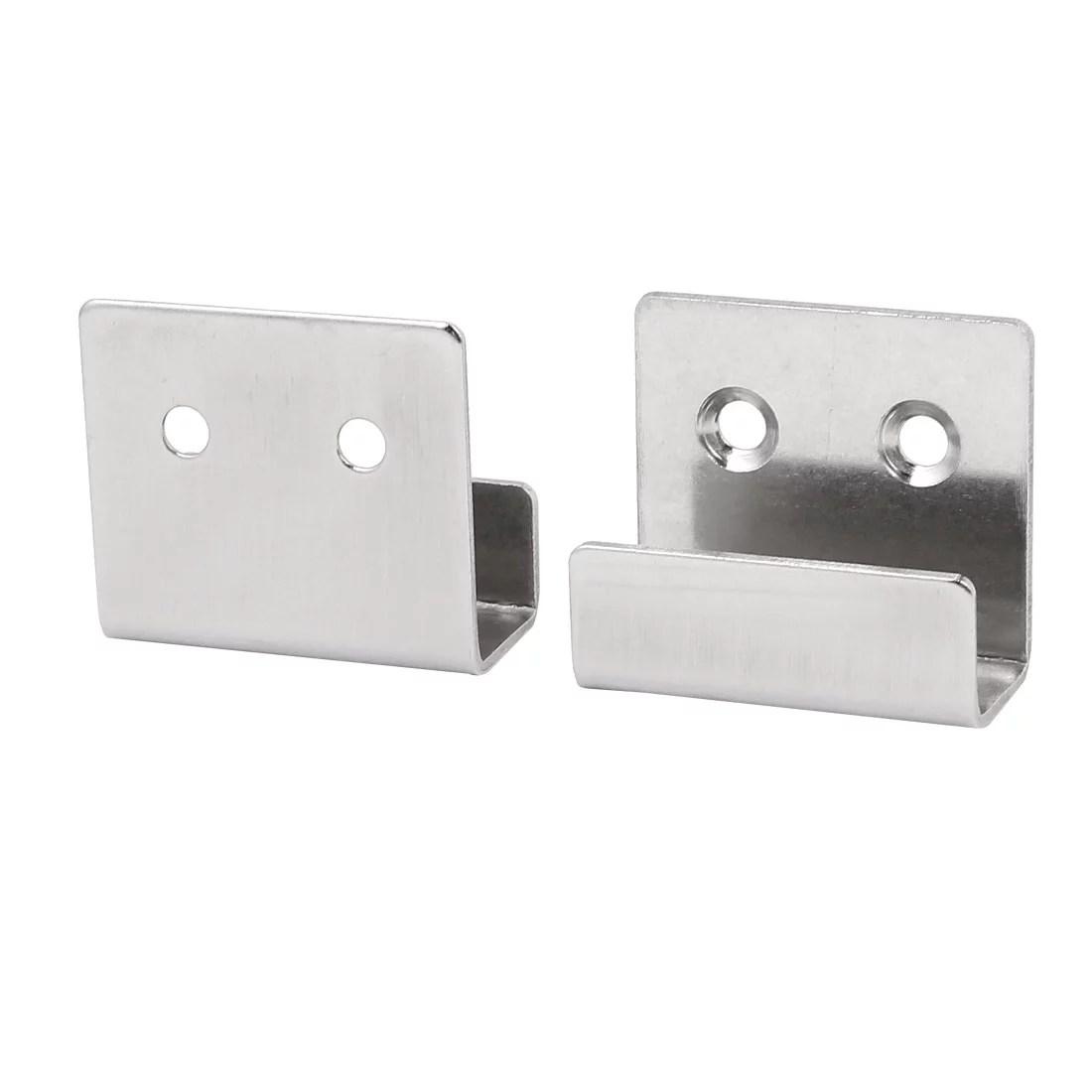 stainless steel wall hanger bracket rack holder 2pcs for ceramic tile display
