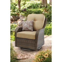 Wicker Swivel Patio Chair Chair&desk Warehouse Johannesburg Better Homes And Gardens Mckinley Crossing All Motion Walmart Com
