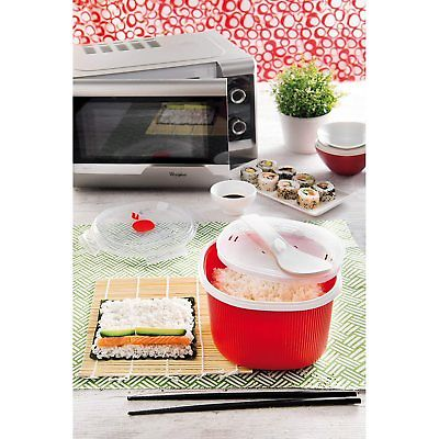 snips 2 7l microwave rice cooker