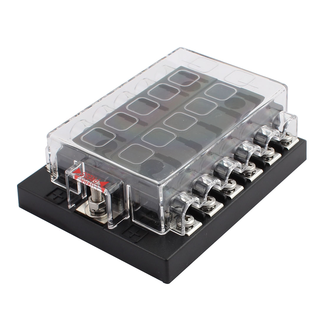 hight resolution of dc32v 12 way terminals circuit atc ato car suv auto blade fuse box block holder