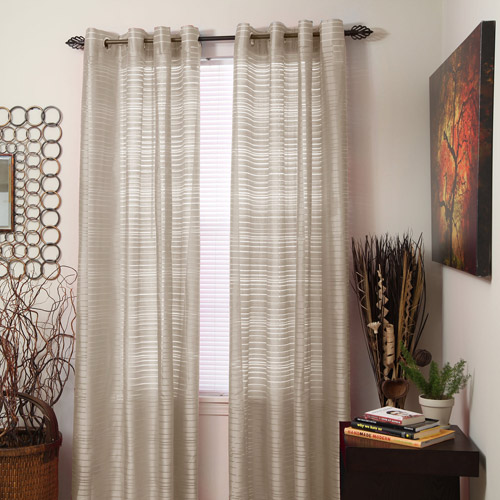 Somerset Home Maggie Grommet Curtain Panel  Walmartcom