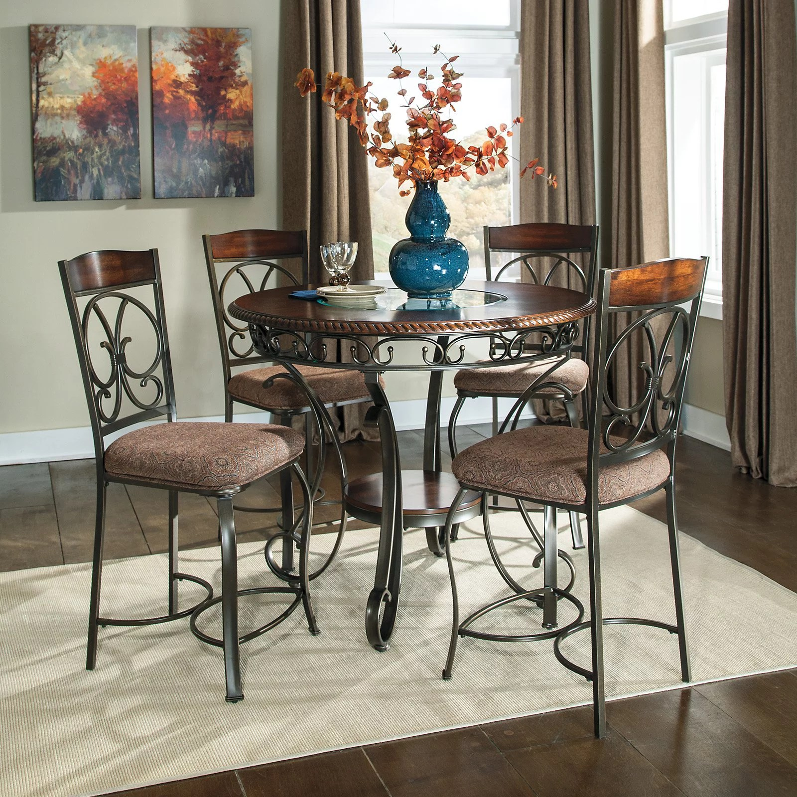 ashley dining room chairs nebraska furniture mart signature design by glambrey counter height table sold separately walmart com
