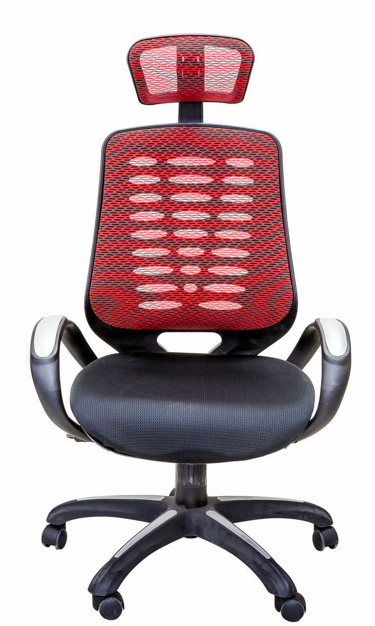 Red Desk Chair Viscologic Adjustable High Back Mesh Swivel Executive Office Computer Desk Chair With Adjustable Mesh Headrest Red Black