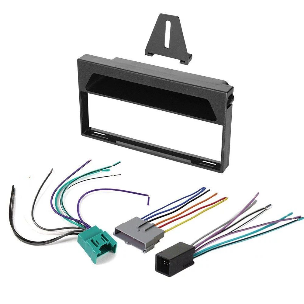 hight resolution of 1997 1998 ford f 150 aftermarket car stereo radio single din dash mix 1997 1998 ford 1997 f150 wiring harness