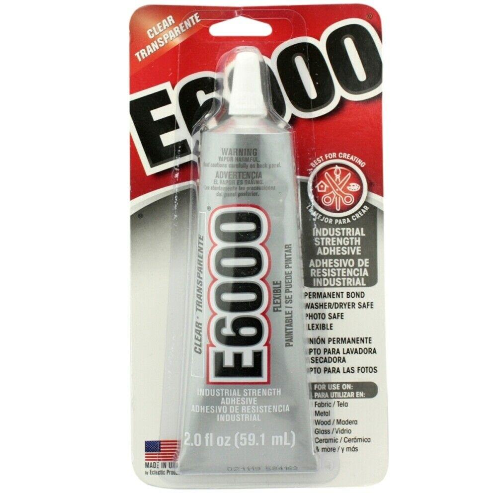 E6000 Clear Permanent Craft Adhesive 2 Oz Glue Walmart Com Walmart Com