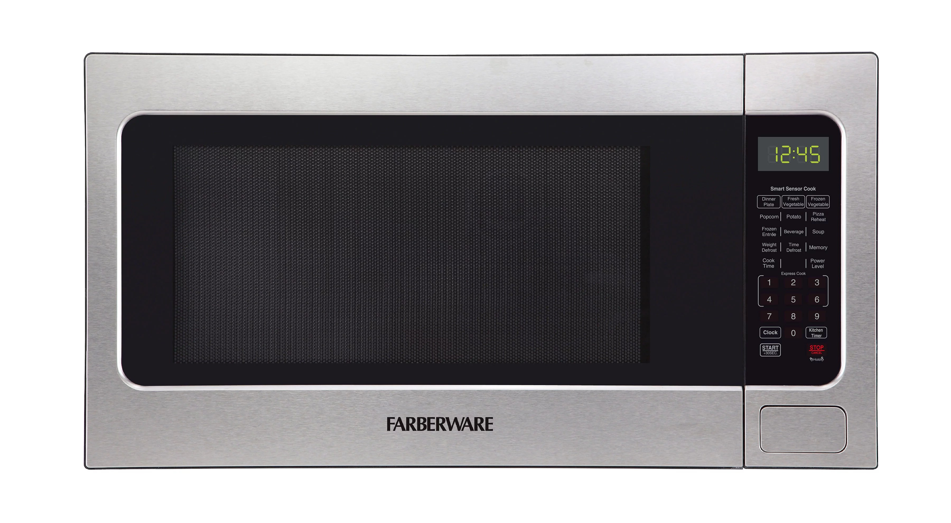 farberware 2 2 cu ft microwave oven stainless steel fmo22abtbkc