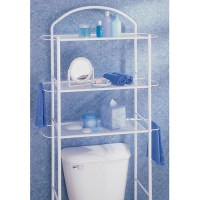 HOMZ Bathroom Etagere, Chrome - Walmart.com