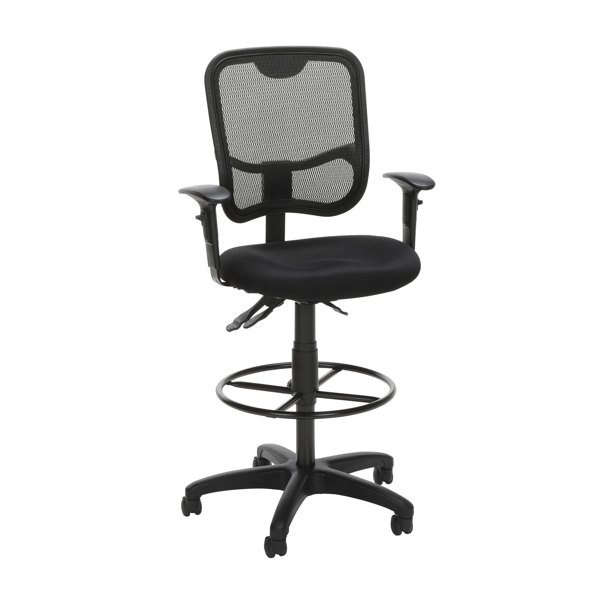 ergonomic drafting chair with arms wholesale wedding covers in orlando ofm comfort series mesh swivel task