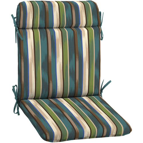 mainstays outdoor patio wrought iron chair pad