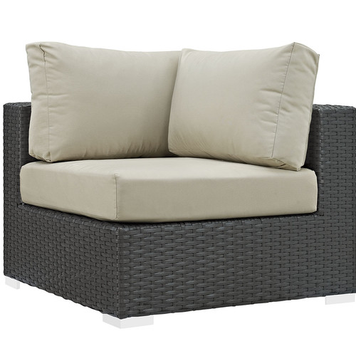 lexmod monterey outdoor wicker rattan sectional sofa set how to decorate a console table behind modway patio conversation sets walmart com product image sojourn sunbrella corner multiple colors