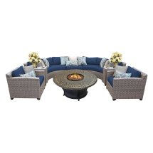 Tk Classics Florence Wicker Sectional Patio Set With