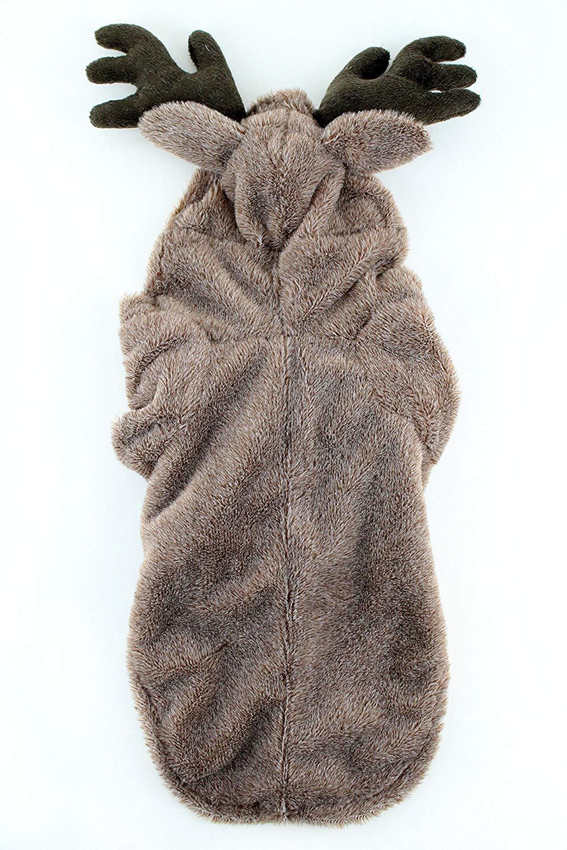 Moose Dog Costume : moose, costume, Reindeer, Costume, Midlee, Walmart.com