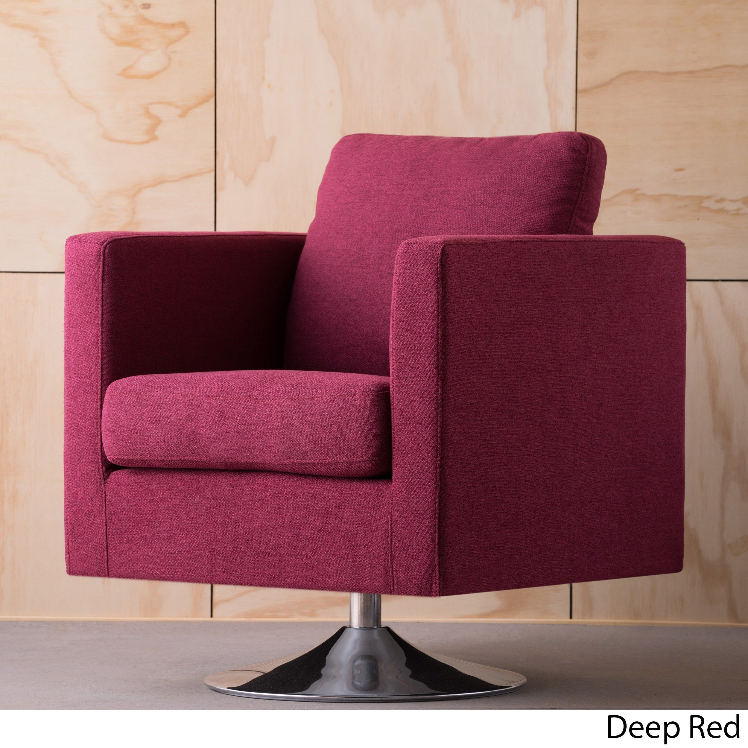 swivel club chair wood lounge chairs plans christopher knight home holden modern fabric by walmart com