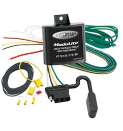 tow ready 119180 modulite protector without trailer light 118554 connection pack integrated protection 118150 assembly protected electrical circuit  [ 1500 x 1500 Pixel ]