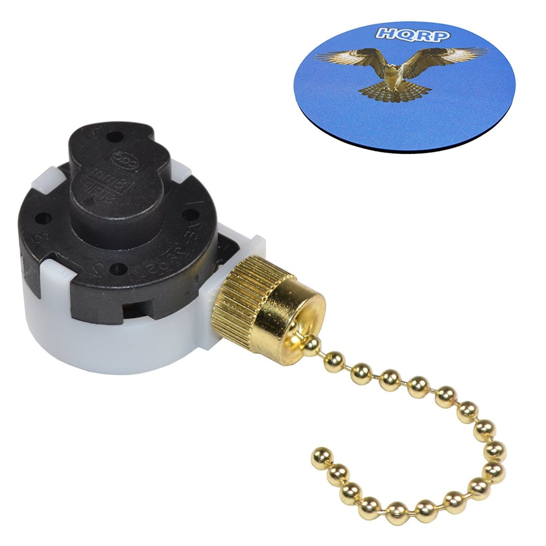Hqrp Ceiling Fan Pull Chain 3 Sd 4 Wire Control Switch For Westinghouse Function L 1 2 Coaster Com