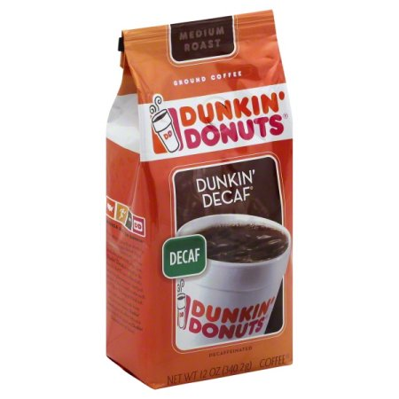 (2 Pack) Dunkin' Donuts Dunkin' Decaf Decaffeinated Ground ...