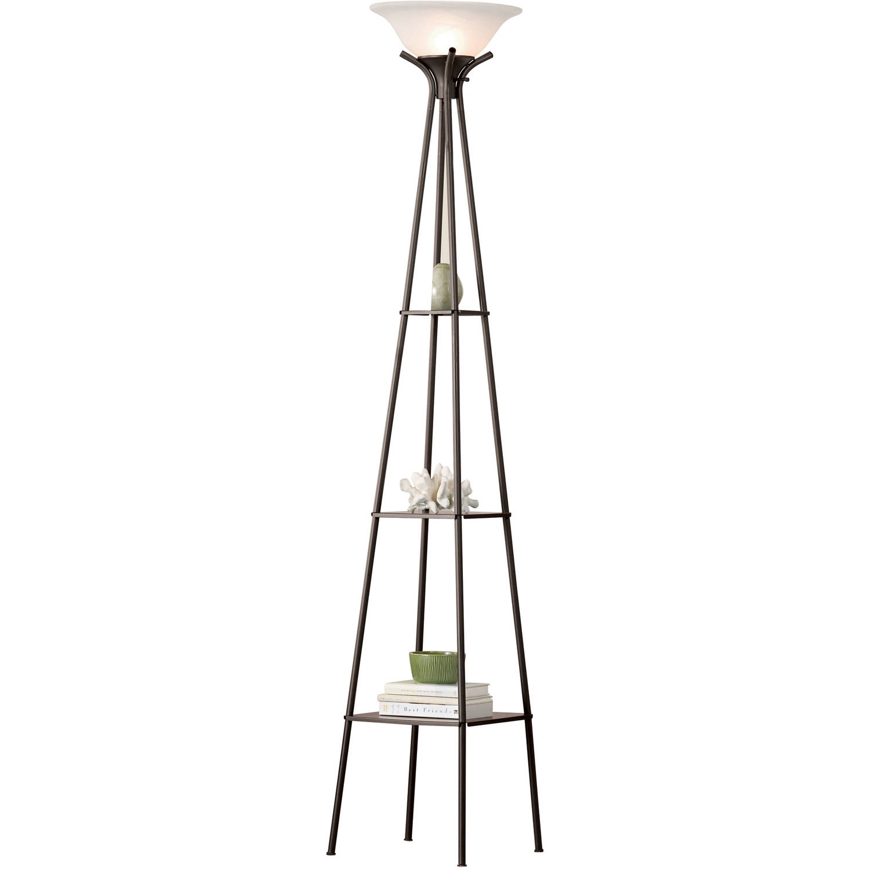 Mainstays Etagere Floor Lamp, Ca