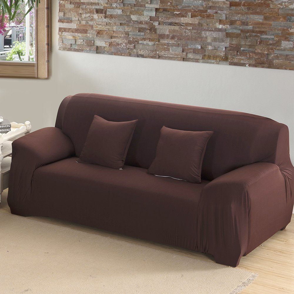 chair covers sofa gaming chairs for adults slipcover stretch cover anti wrinkle spandex fabric loveseat couch solid color coffee 1 seat walmart com