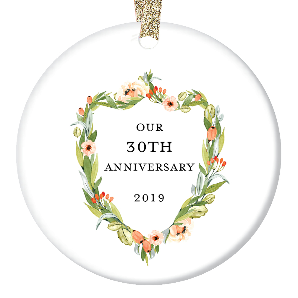30th anniversary gifts thirtieth