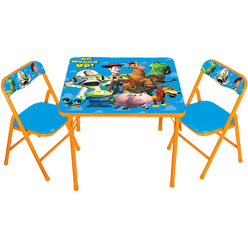 Disney Toy Story Activity Table And Chair Set