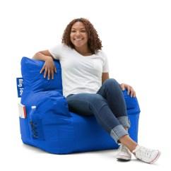 Big Joe Bean Bag Chair Cream Puff Multiple Colors 33 X 32 25 Walmart Com