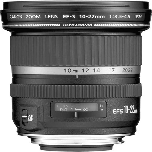 Canon EF-S 10-22mm f/3.5-4.5 USM - f/3.5 to 4.5