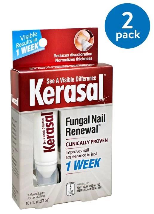 Does Kerasal Work : kerasal, Pack), Kerasal, Fungal, Renewal, Treatment,, Walmart.com
