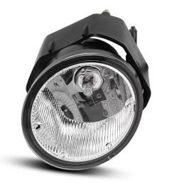 fog lights h3 12v 55w halogen lamp for nissan sentra 2000 2003 frontier 2001 2004 xterra 2002 2004 maxima 2000 2001 clear lens w bulbs wiring harness  [ 1100 x 1100 Pixel ]