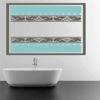 Damask Wall Decal - Vinyl Decal - Car Decal - Vdcolor009 ...