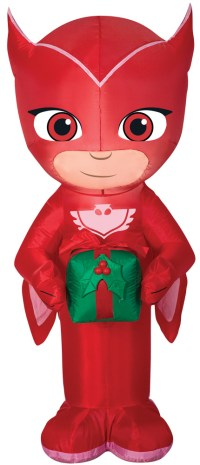 PJ Mask Owlette with Present Airblown Christmas Decoration ...