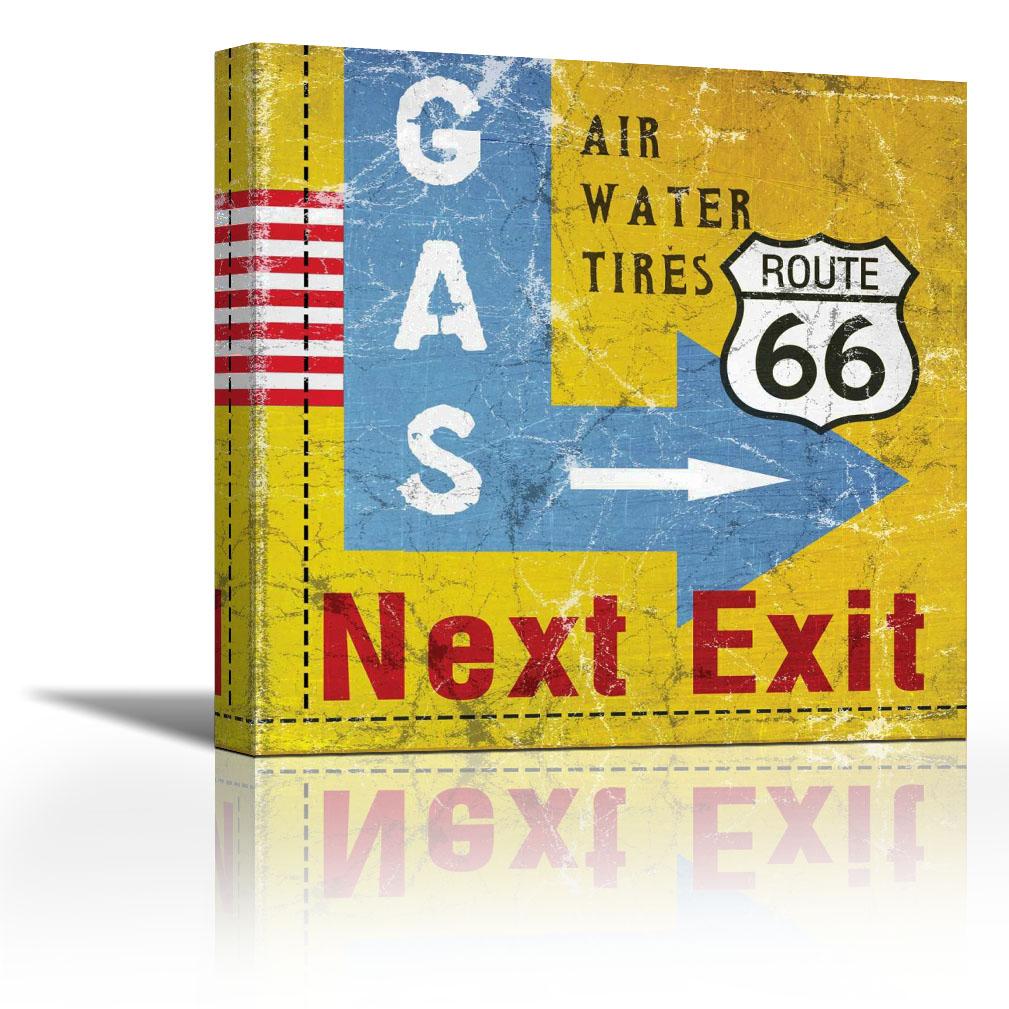 gas exit - contemporary fine