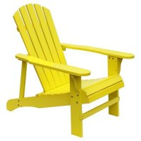 HRH Designs Wood Adirondack Chair - Walmart.com