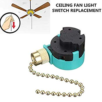 hunter ceiling fans replacement parts zing ear ze268s6ceiling fan switch  3 speed 4 wire pull chain cord switch appliances replacement speed control