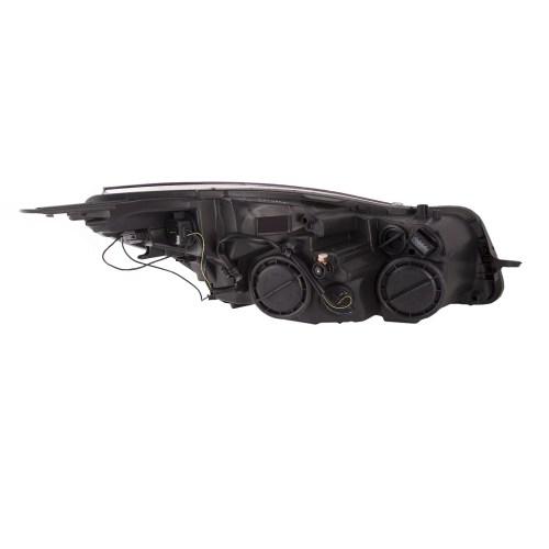 small resolution of 2011 2014 buick regal headlight right passenger side halogen headlamp assembly walmart com
