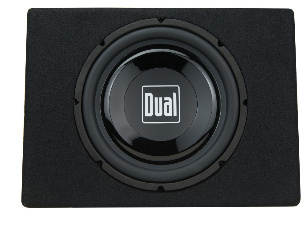 medium resolution of dual electronics tbx10a 10 inch shallow high performance powered enclosed subwoofer with built in amplifier 300 watts of peak power walmart com