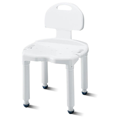 Carex Universal Shower Seat Bath Chair with Back  Walmartcom