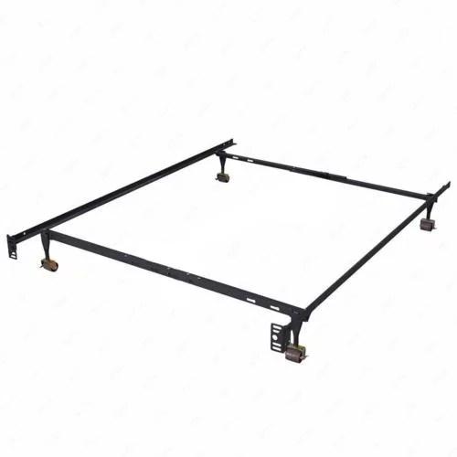 Heavy Duty Metal Bed Frame Adjustable Queen Full Twin Size