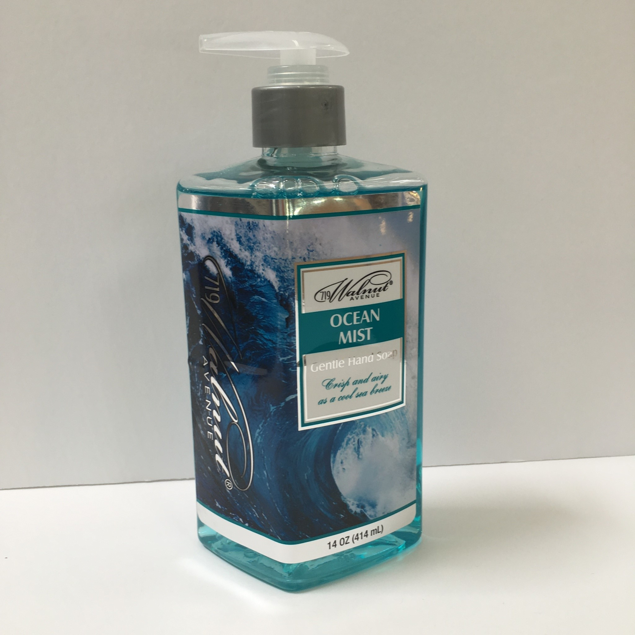 Walnut Avenue 719 Liquid Hand Soap Ocean Mist 14 Fl Oz
