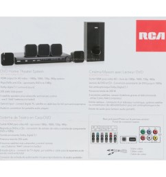 rca dvd home theater system with hdmi 1080p output 8 pc box walmart com [ 2400 x 2400 Pixel ]