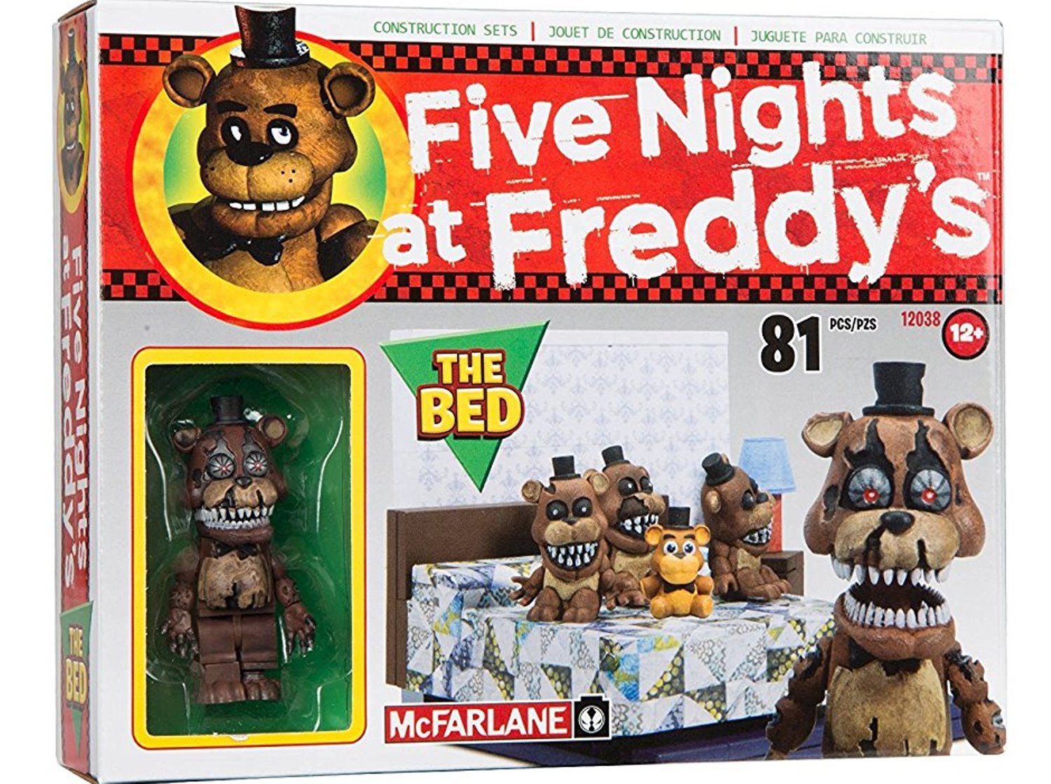 McFarlane Toys Five Nights At Freddy's The Bed