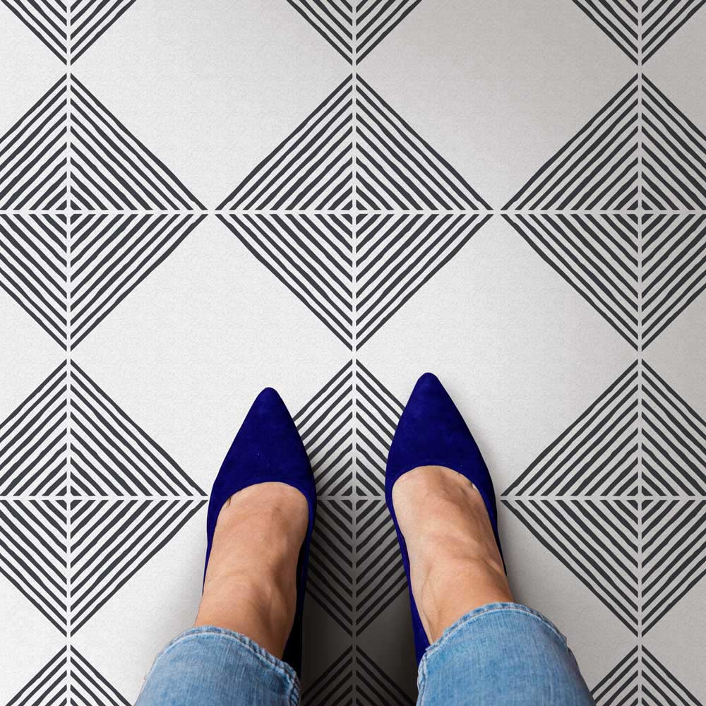 nola tile stencil large size 12x12 tile walmart com