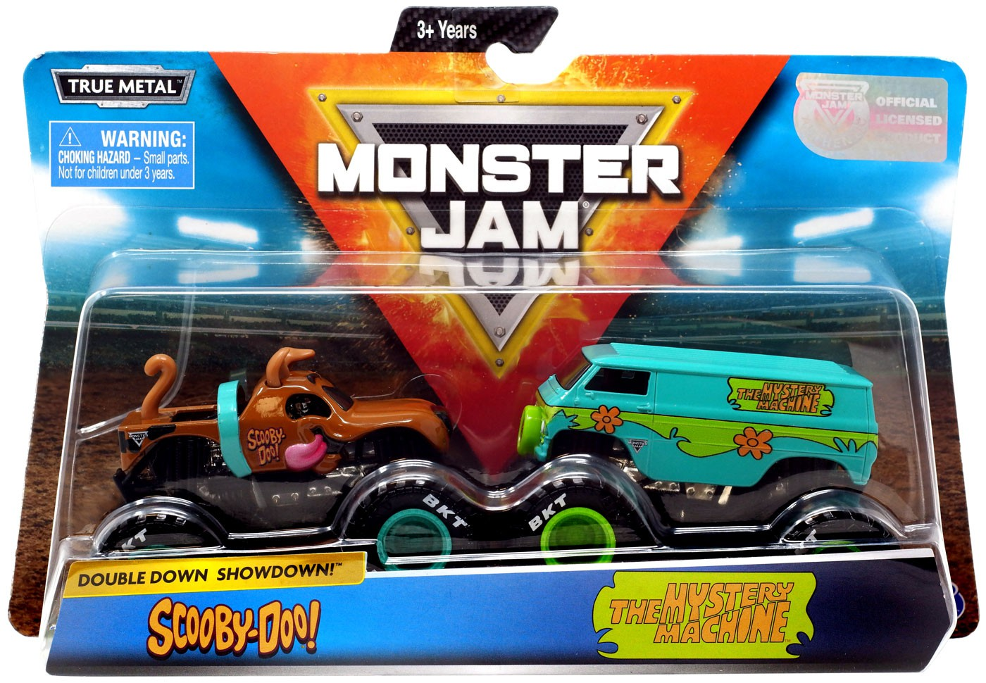 Monster Jam Double Down Showdown Scooby Doo Amp The Mystery