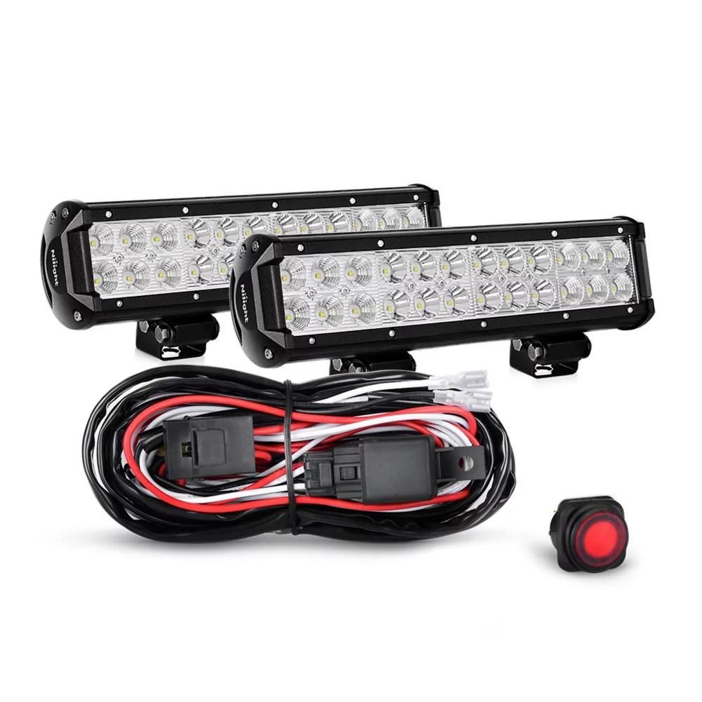 hight resolution of nilight fog driving lights walmart com rh walmart com