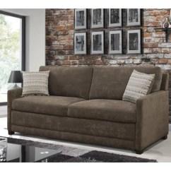 Sabrina Sofa White Lounge Room Serta Convertible Brown Walmart Com