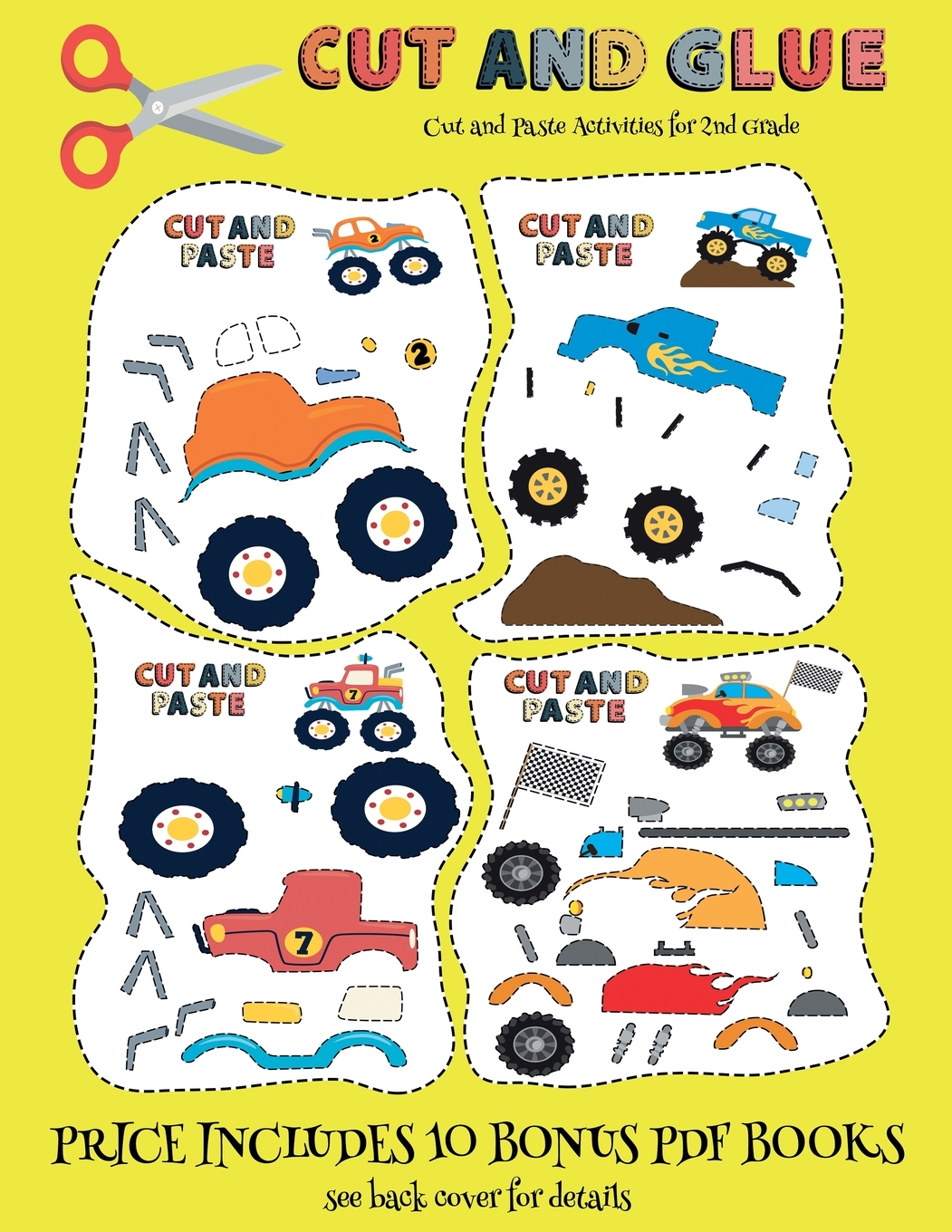 Cut And Paste Activities For 2nd Grade Cut And Paste