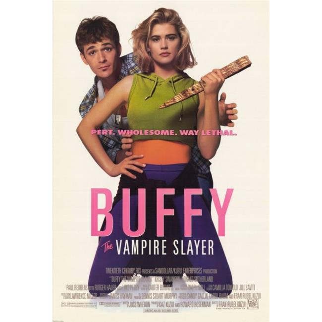 pop culture graphics movaf8401 buffy the vampire slayer movie poster print 27 x 40 walmart com