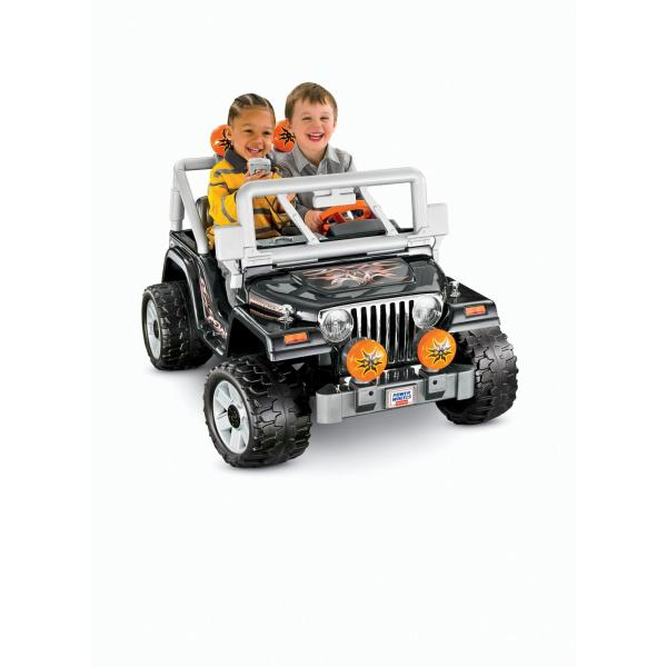 Power Wheels Black Tough Talkin' Jeep 12-volt Battery